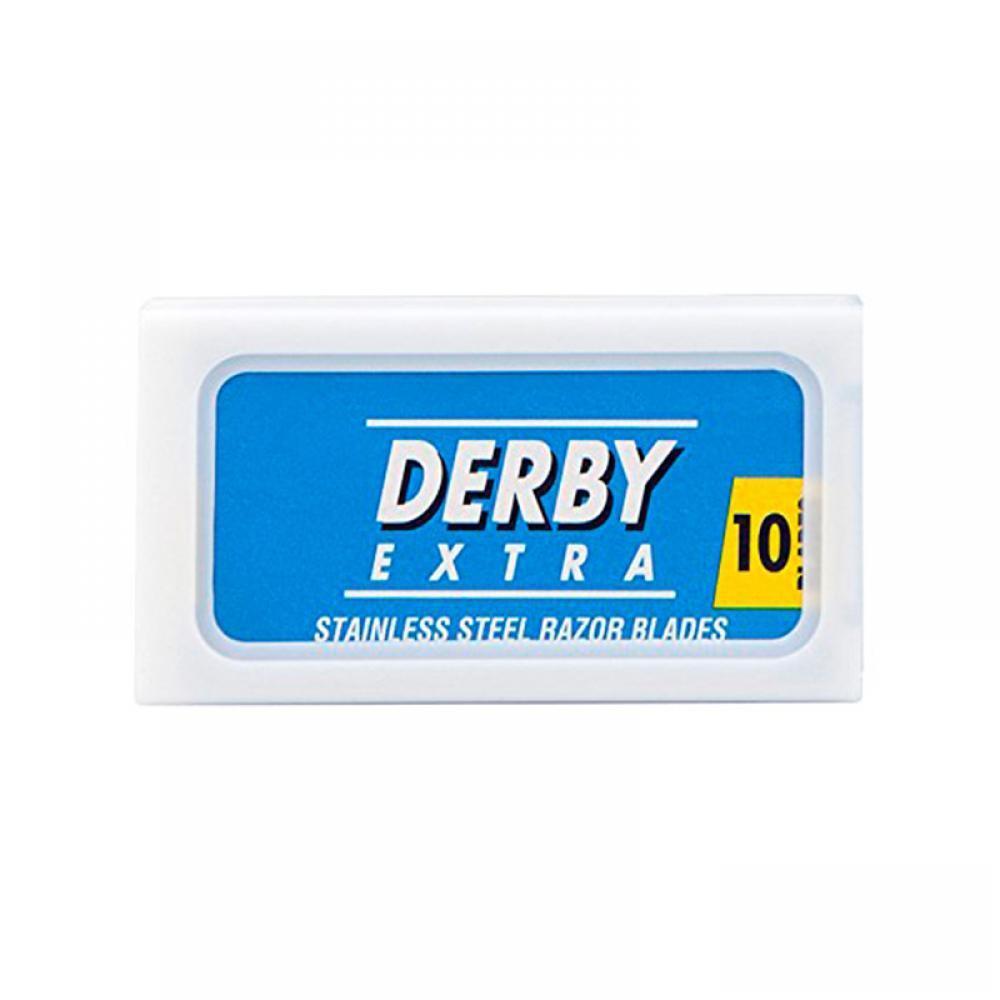 Лезвия двусторонние Derby Blue 10шт