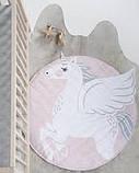Одеяло коврик в детскую комнату Единорог, фото 3