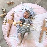 Одеяло коврик в детскую комнату Единорог, фото 4