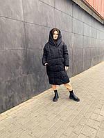 Женская зимняя куртка-пальто зефирка, фото 1