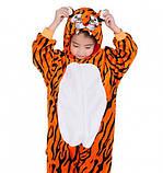 Детская пижама кигуруми Тигр 120 см, фото 2