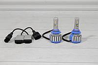 Автомобильные светодиодные лампы LED T1 HB4 с охлаждением и влагозащитой + ПОДАРОК!, фото 4