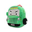Детский плюшевый рюкзак для мальчика 2-4 года JEEP, фото 2