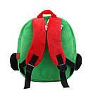 Детский плюшевый рюкзак для мальчика 2-4 года JEEP, фото 3