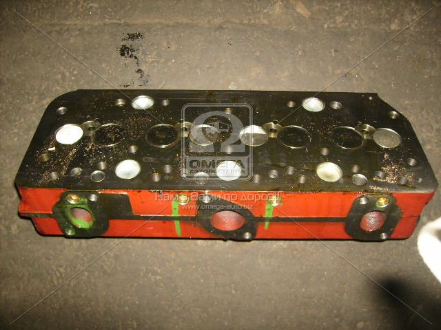 Головка блока двигательД 245.7Е2,9Е2,30Е2 (ЕВРО-2) в сборе с клапанами