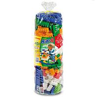 Большой пластиковый конструктор для детей 451 деталей. Конструктор для развития детей.