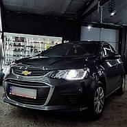Установка LED ламп Chevrolet Aveo
