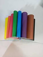 Набор цветная бумага А5 9 листов ТМ Бріск 9 цветов офсетная бумага Украина УВ-4 Бриск