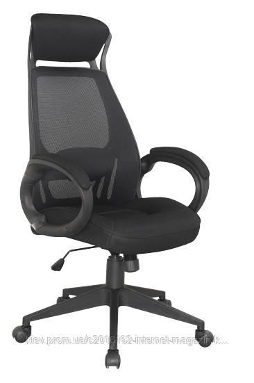 Кресло офисное для руководителя BRIZ черный