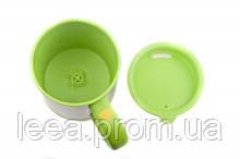 Чашка-мешалка с вентилятором зеленая SKL25-145968