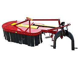 Косилка роторная для трактора КР-1.25 с защитным кожухом  (Володар)