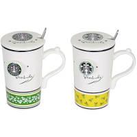 Кружка с ложечкой Starbucks
