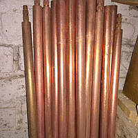 7,5 м комплект заземленя обміднений Ф20 заклепувальний, фото 1