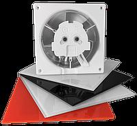 Вентилятор вытяжной  dRim D125мм, 10W, 145х69мм, 140м3/год., 34дБ, IPX2, шар.подшип., AirRoxy