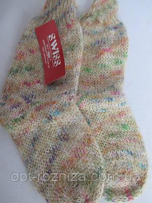 Шерстяные носки на зиму для девочек