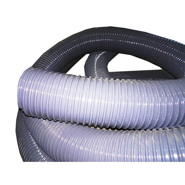 Воздуховод (1 м.) (100мм) (в бухте 30м) (EOLO 100 (100x5.4))
