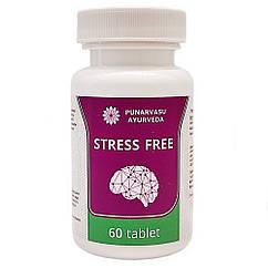 Стрессфри (Stress Free, Punarvasu) улучшения работы нервной системы, 60 таблеток