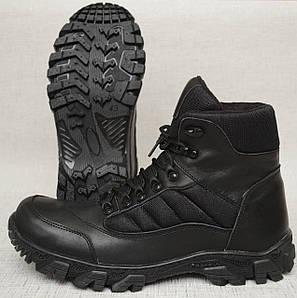 Ботинки высокие Stim (кожаные, утеплённые)