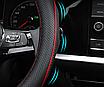 Чехол оплетка Сool на руль для автомобиля BMW натуральная кожа, фото 3