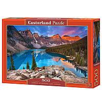 """Пазлы Castorland 53001 """"Озеро Мерейн, Канада"""""""