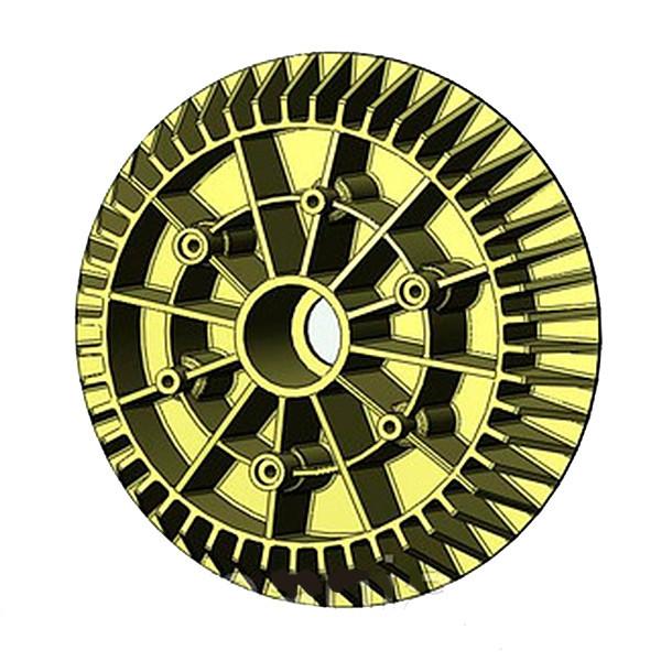 Диск колеса прикатывающего широкого (колпак) ВЕСТА (509.046.0042)