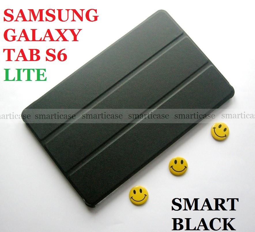 Класичний захисний чорний чохол для Samsung Galaxy Tab S6 Lite 10.4 (Ivanaks Tri Fold black)