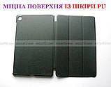 Класичний захисний чорний чохол для Samsung Galaxy Tab S6 Lite 10.4 (Ivanaks Tri Fold black), фото 6