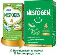 Смесь молочная сухая Nestle Nestogen 4 (Нестле Нестожен) 4, 600 г, с 18 месяцев 1000132