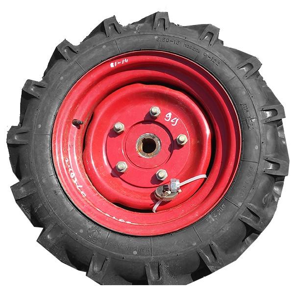 Колесо опорно-приводное ВЕСТА с шиной (правое) с кронштейном (509.046.6020-01-2Т)