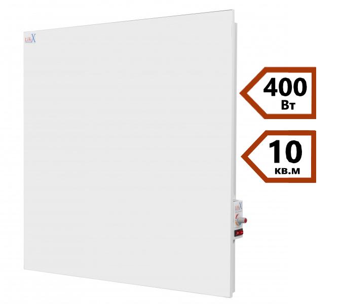 Керамическая панель отопления LIFEX Classic КОП400R (белый)