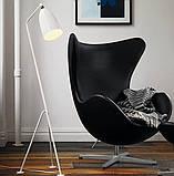Кресло Эгг (Egg) кожзам черный СДМ группа (бесплатная доставка), фото 3