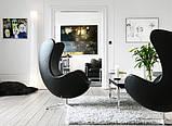 Кресло Эгг (Egg) кожзам черный СДМ группа (бесплатная доставка), фото 5