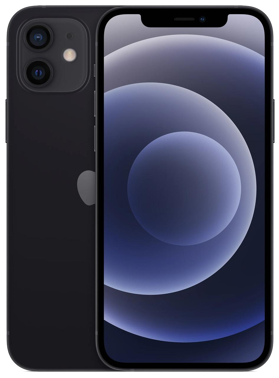 Смартфон Apple iPhone 12 Dual Sim 64GB Black