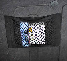 Сітка - органайзер в багажник автомобіля (СБ-25) 25*35 см 25*25 см