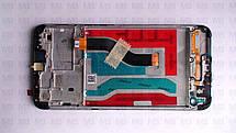 Дисплей с сенсором Samsung А107 Galaxy А10s Black, GH81-17482A, оригинал, с рамкой!, фото 3