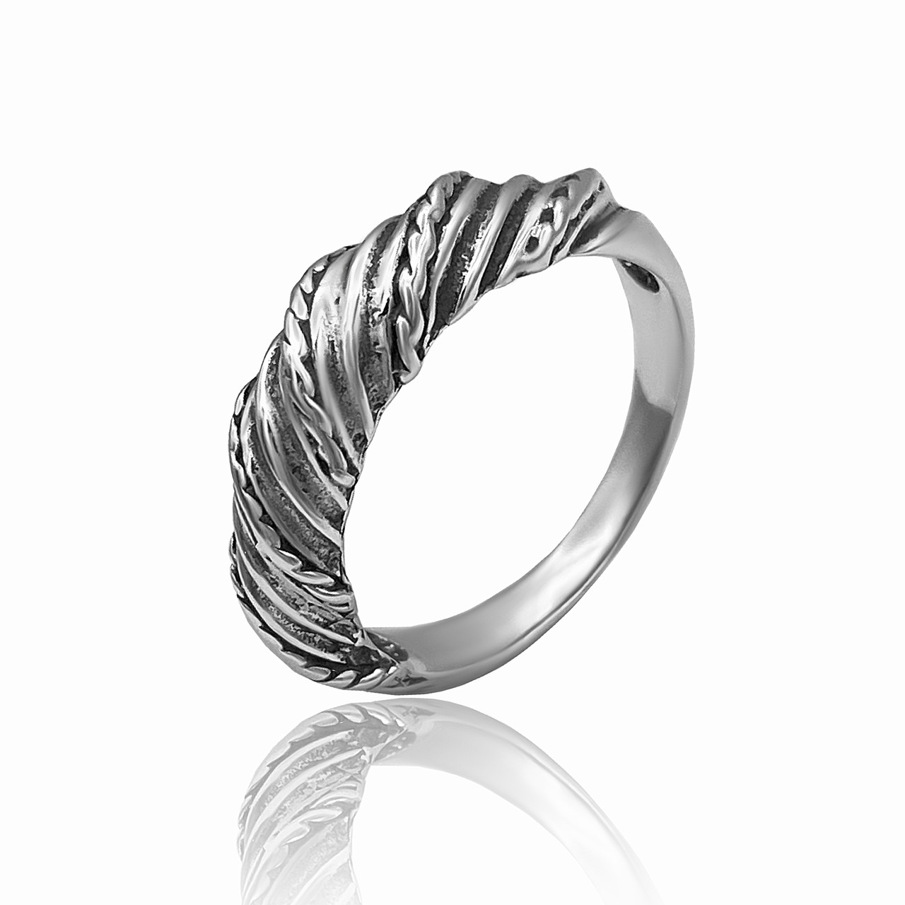 "Серебряное кольцо ""Канат"""