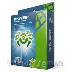 Антивірус Dr.Web Security Space для Android (1 пристрій на 1 рік (скретч-карта))