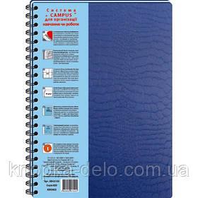Колледж-блок А4 с пластиковой обложкой и разделителями (серия Croco) КВ43100-820