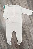 СТОК! Детские человечки из теплого хлопка с длинным рукавом Kiabi, фото 2