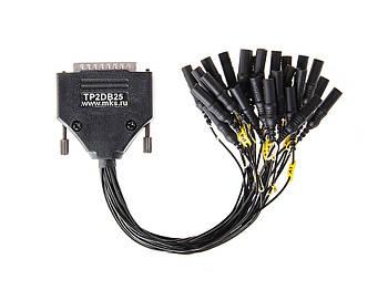 Адаптер для подключения усилителей к электродам MCSCap через общий разъем