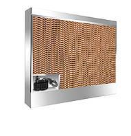 Панель охлаждения 1000х1000х150 (не окрашена, в корпусе с нержавейки, с водяным насосом)