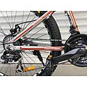 Спортивный велосипед салатовый ТopRider 26 дюймов 21скорость алюминиевая рама 17 детям с 14 лет рост от 160 см, фото 5