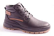 Ботинки мужские черные SLM 224/8-1