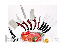 Набор кухонных ножей Contour Pro Knives Контур про магнитная рейка 11 предметов