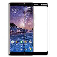 Защитное стекло 2.5D Full Screen на Nokia 7 Plus