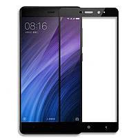 Защитное стекло 2.5D Full Screen на Xiaomi Redmi 4 цвет Черный