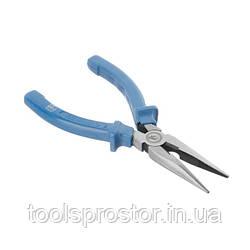 Щипцы удлиненные прямые 160мм INTERTOOL HT-0121