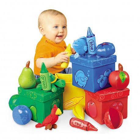 """Обучающий набор для малышей """"Цветные боксы"""" Lakeshore"""