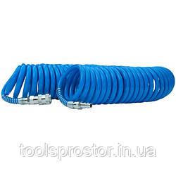 Шланг спиральный полиуретановый 15м INTERTOOL PT-1712