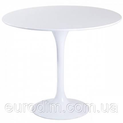 Стол обеденный Тюльпан МДФ 60см, фото 2